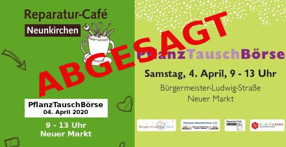 Reparatur-Café bei der PflanzTauschBörse