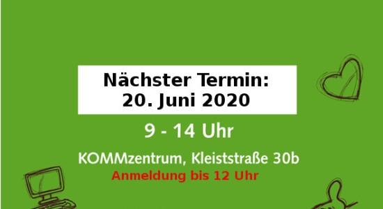 In Neunkirchen wird wieder repariert